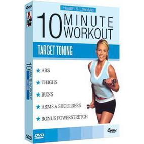 10 Minutes Work-Out (Target Tonning For Beginners)