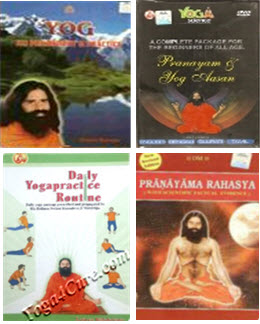 New DVD (in English & Hindi both in one DVD) + Pranayama Book in english