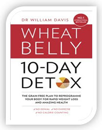 The Wheat Belly 10-Day Detox Book in English